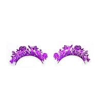 Fantasy Lashes purple flower