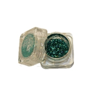 Rohglitter green blue